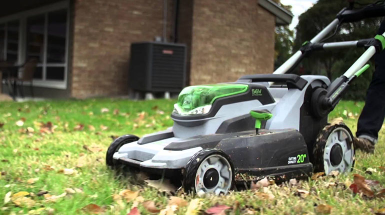 Full EGO Electric Mower Review for 2016