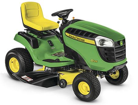 garden tractor john deere d125