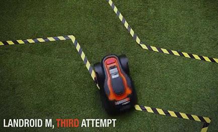 Landroid auto pathing technology