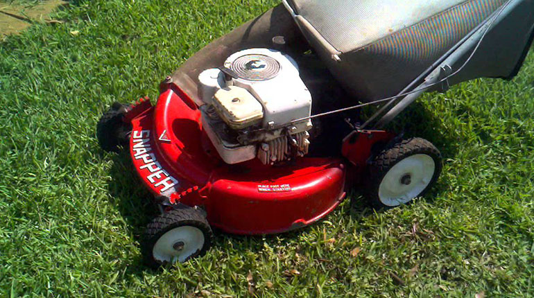Sner Hi Vac Mower Review