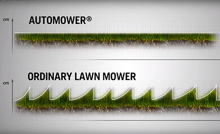Difference between automower vs normal mower