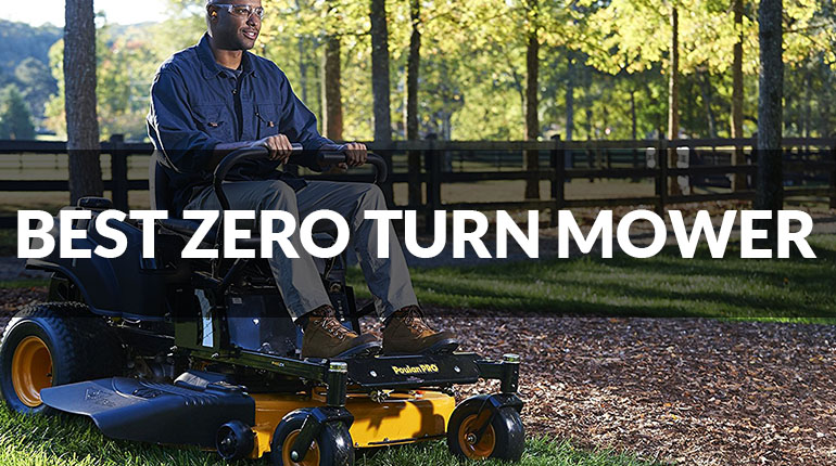 Best Zero Turn Lawn Mower Reviews of 2017