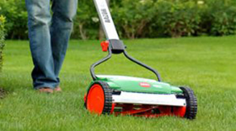 Brill Razorcut 38 Reel Push Mower Review