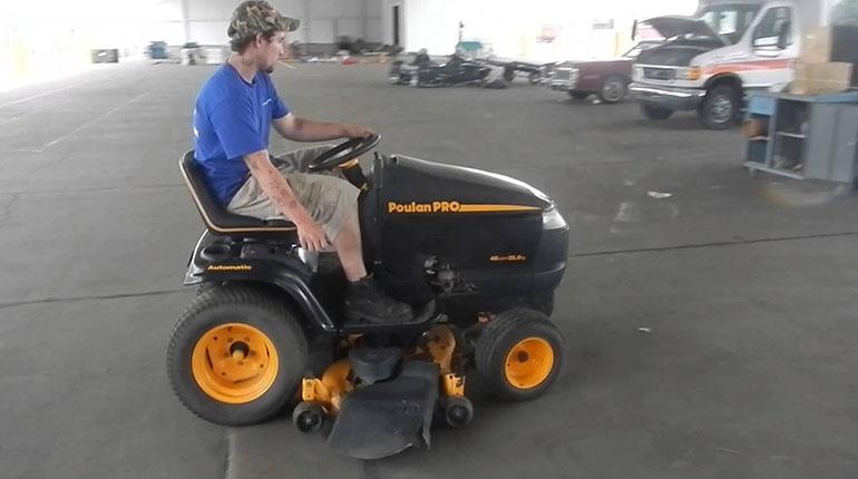 Poulan Pro Kohler 26 Hp Tractor Review Blmr