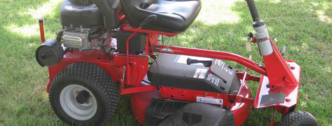 rear engine lawn mower