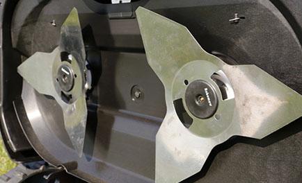 rs630 dual steel blades
