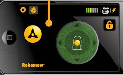 robomow phone app