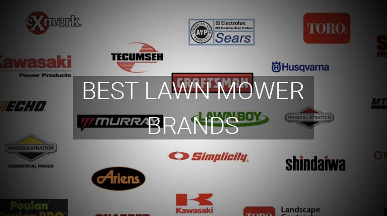 best mower brands