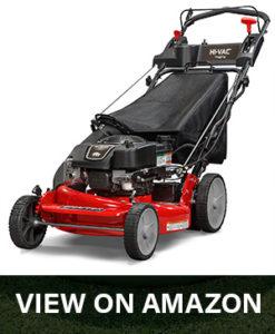 snapper hi vac lawn mower