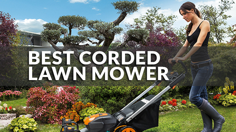 Best Corded Electric Lawn Mower Review | 2021 NEW Guide