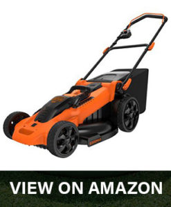 black decker cm2040 lawn mower