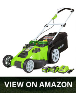 greenworks 25302 lawn mower